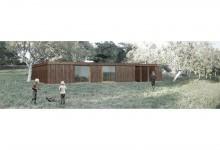 Concurso anteproyectos de vivienda experimental en madera