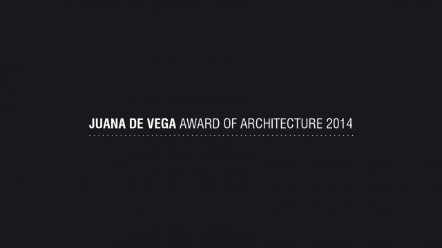 Premio Juana de Vega de Arquitectura 2014. Emilio Rodríguez Blanco